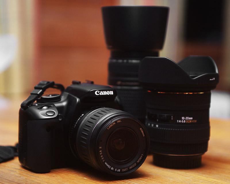 canon eos 400d duble kit купить: